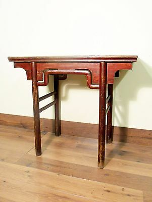 Antique Chinese Ming Console (wine) Table (5586), Circa 1800-1849