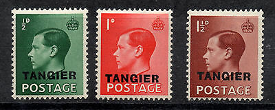 Great Britain, 3 stamps 1936 TANGIER , MH, full set