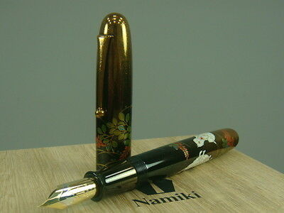 Namiki Emperor 月夜に兎 Rabbit in Moonlight  Fountain Pen - No.50 nib Medium nib