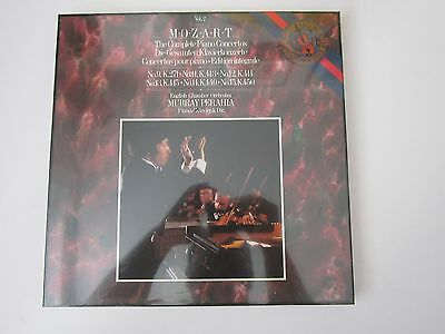 CBS MASTERWORKS M3 42115 MOZART The Complete Piano Concertos Vol 2 SEALED LP BOX