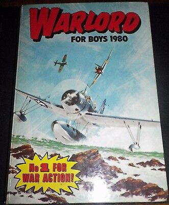 Warlord Book for Boys - 1980 - Very Good Condition - 37 Years Old