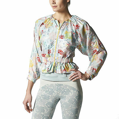 adidas Stella McCartney Floral Studio Womens Jacket UK Size S NEW