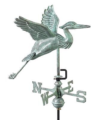 Good Directions Heron Weathervane