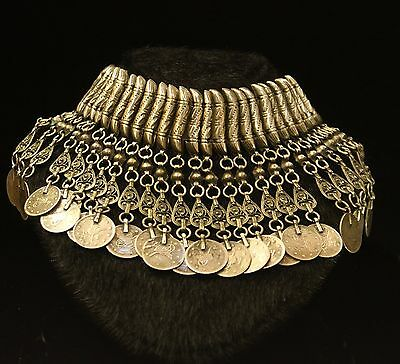 Perfect Silver Ottoman Anatolian Style Coins Decorated  For Lady Necklase
