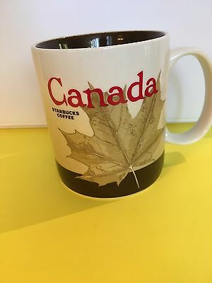 Starbucks Collector Series Canada 2010 Coffee Cup Mug 16fl Oz New Excellent!