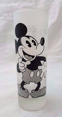 Mickey Mouse Disney Disneyland Resort Paris Exclusive Frosted Tall Glass