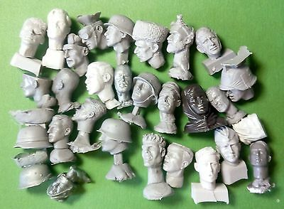 head of soldier scale 1:16 Resin kit 120 mm
