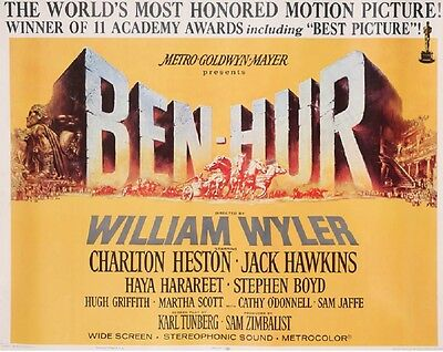 35mm BEN HUR in TECHNICOLOR 14 Parts out of 16 Parts Please Read All Details