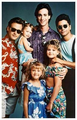 """FULL HOUSE REPLICA 11'x 17"""" TELEVISION POSTER"""