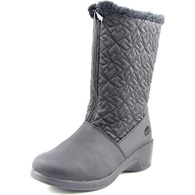 Totes Jonie   Round Toe Canvas  Snow Boot