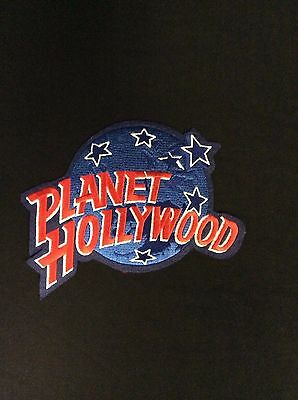 Planet Hollywood Large Embroidered Patch