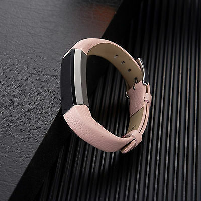 Leather Bands Strap for Fitbit Alta and HR Replacement Wristband Accessory Sport