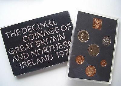 The Decimal coinage of Great Britain and Northern Ireland, 1971 Proof Set