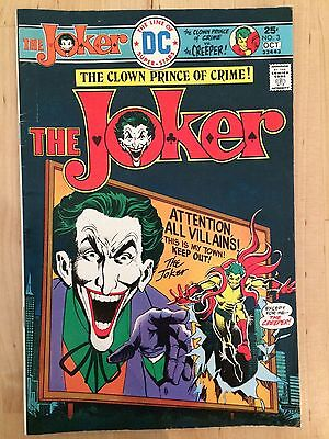 DC Comics The Joker #3 Oct 1975 The Clown Prince Of Crime