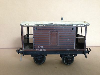 Bassett Lowke O gauge LMS Brake Van 730273 for improvement