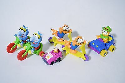 Vintage McDonalds Happy Meal Toys - Muppet Babies Garfield Lot - Good Condition
