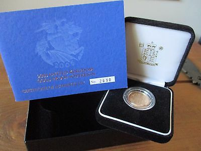 2005 Royal Mint Gold Proof Full Sovereign