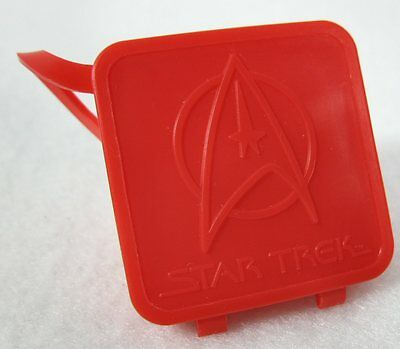 McDonald's 1979 Red Plastic Star Trek Secret Compartment Ring Happy Meal Toy