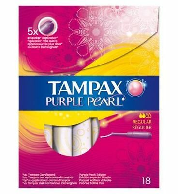 Tampax Purple Pearl Tampons