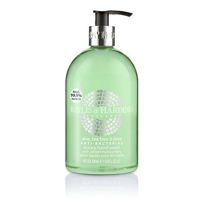 Baylis & Harding Anti Bacterial 500ml Hand Wash with Added Moisturisers