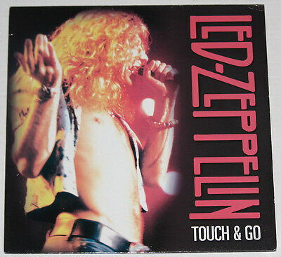 "LED-ZEPPELIN ""Touch & Go"" 'Promo' >Great Live Tracks-1969,'71,&'75 New LP"