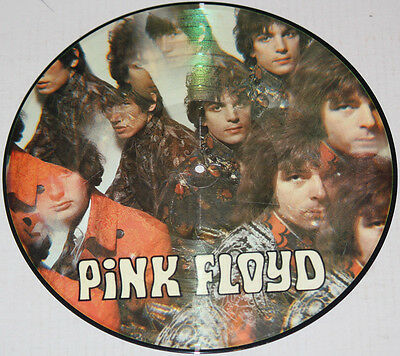 "PINK FLOYD ""Piper At The Gates Of Dawn"" COLUMBIA SGX-6157 Picture Disc Ltd. Ed"