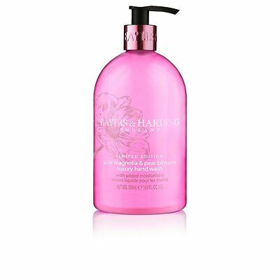 Baylis & Harding Pink Magnolia and Pear Blossom Hand Wash - 500 ml