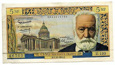Banque de France 1964 Currency Note - 5 Francs - Nouveaux Franc - AL481