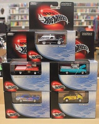 Lot of 5 Hot Wheels Limited Edition Metal Collection 1:64 Scale