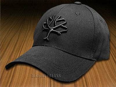 BOKER TREE BRAND Blackout Black 100% Cotton Hat Baseball Cap