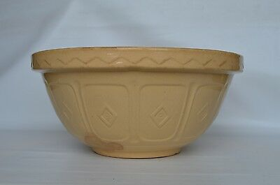 Vintage Mason Cash Church Cresley Mixing Bowl 29cm Retro Shabby Chic