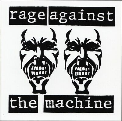 13161 Rage Against the Machine Heavy Metal Rock Music Band Sticker / Decal