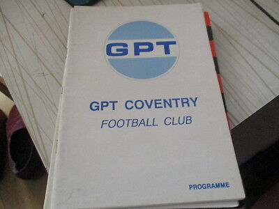 Gpt Coventry  V  Sutton  Town  1993-4