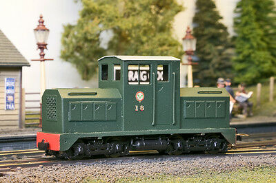 HOn30 009  Narrow Gauge  Freelance Diesel locomotive Bodyshell 2 kits in 1