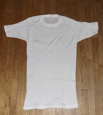 vintage new deadstock 1970s/80S  MR. BRIEF ribbed t-shirt - super thin - SMALL