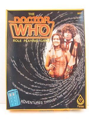 Vintage FASA The Doctor Who Role Playing Game Adventures Through Time & Space