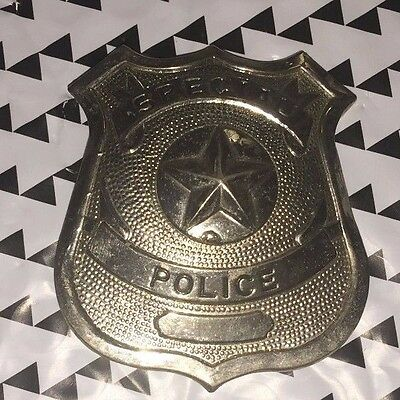 Obsolete PROP SPECIAL POLICE BADGE