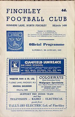1965 - Finchley v Windsor & Eton - FA Amateur Cup 1st Rnd Replay