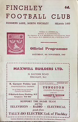 1965 - Finchley v Southall - Athenian League