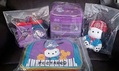 Sanrio Pochacco 1998-1999 Vintage Set, Authentic Super Rare Listing! NEW!