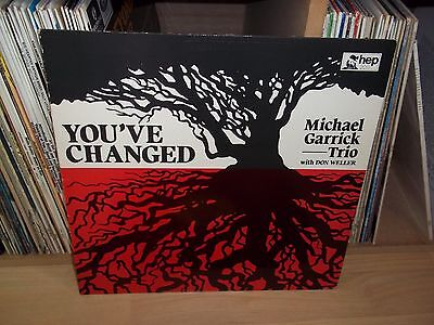 MICHAEL GARRICK TRIO You've changed UK 1981 HEP original FREE JAZZ Top Copy !