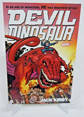 Devil Dinosaur by Jack Kirby Complete Collection Marvel TPB New Trade Paperback