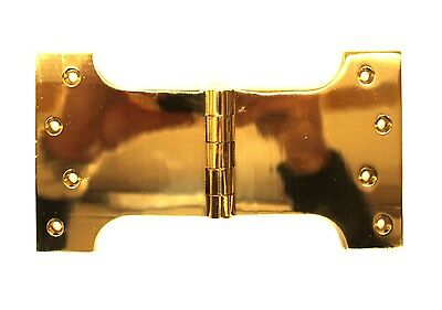 Parliament Solid Brass Hinge Large Hardware Door Shutters