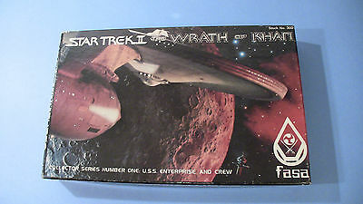 Star Trek II: The Wrath of Khan Fasa Miniatures Set  #1 Enterprise & Crew