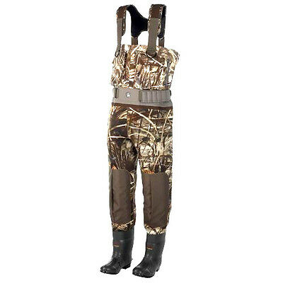 Game Winner Hunting Gear Hybrid 800 Boot-Foot Chest Waders Size 8