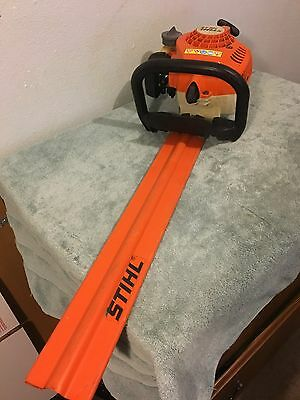 "Stihl HS 45 Hedge Trimmer With 20"" Blade good condition working"