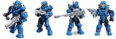 Mega Bloks Halo - Arena Champions Blue Spartans w/ Accessories DPW95