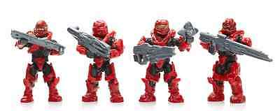 Mega Bloks Halo - Arena Champions Red Spartans w/ Accessories DPW95