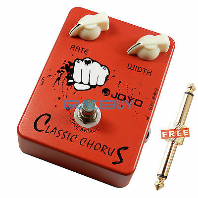 9V JOYO JF-05 Classic Chorus Guitar Effect Pedal Full Bodied 12-string Sounds