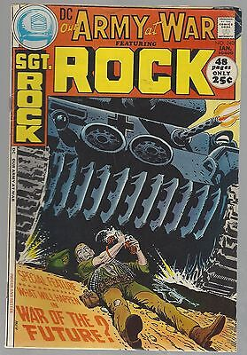 SGT. ROCK Our Army At War #240 January 1972 nice condition